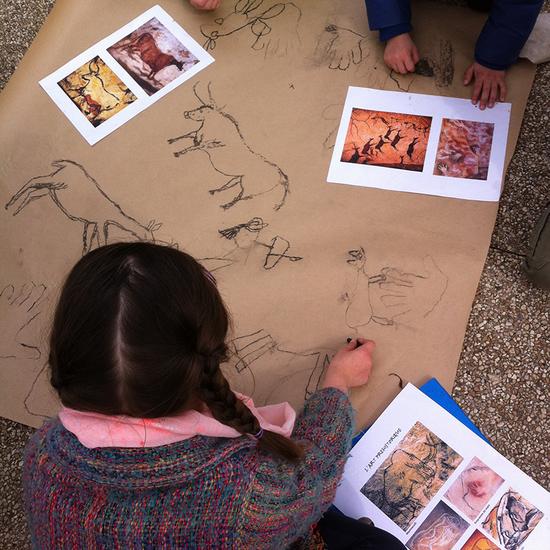 Atelier Vie préhistorique